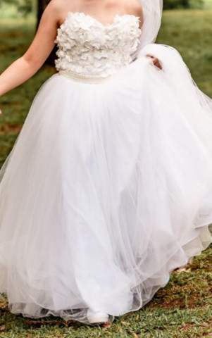 Vestido de noiva tam m. - Foto 3