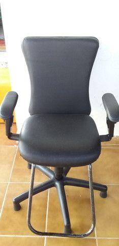 Cadeira Black Sistem - Foto 2