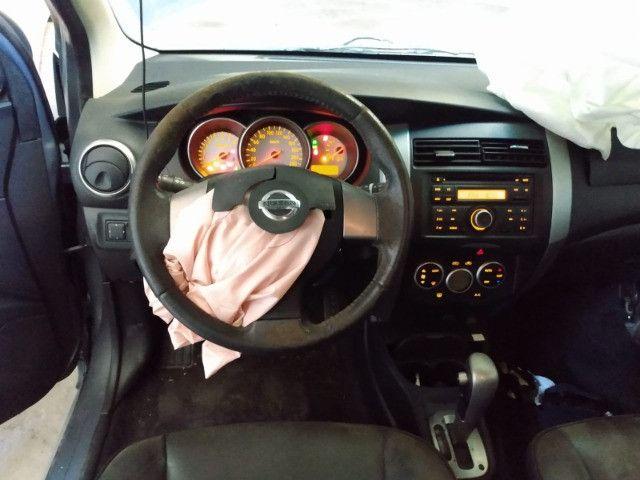 Nissan livina x-gear 1.8 16v automatica 2014 sucata - Foto 3