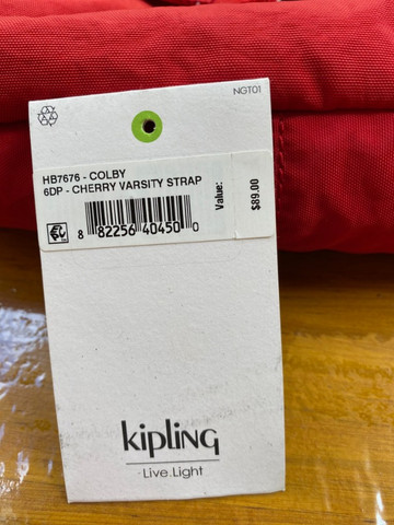 Bolsa Kipling Original com Etiqueta - Foto 5