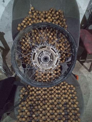 Vendo rodas de xre 300 - Foto 2