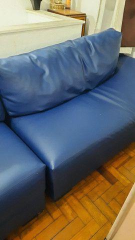 Sofá usado de 4 lugares  - Foto 2