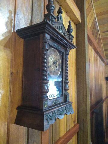 Raríssimo !!! Relógio antigo funcionando !!! - Foto 2