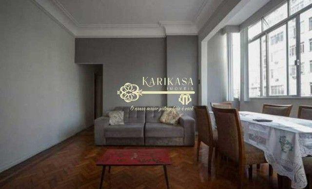 Copacabana- Av Nossa Sra de Copacabana - Apartamento Reformado, vista lateral mar, 3 quart - Foto 5