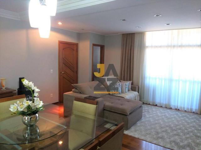 Apartamento completo com 3 dormitórios à venda no condomínio Castro Alves, 140 m² por R$ 9 - Foto 4