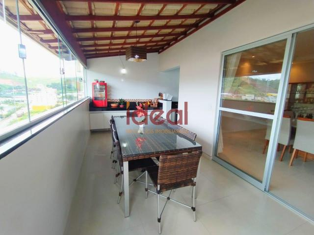 Cobertura à venda, 3 quartos, 2 suítes, 2 vagas, Santo Antônio - Viçosa/MG - Foto 11