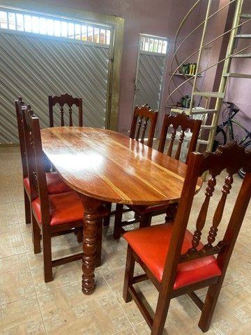 Mesa de macacaúba