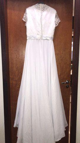 Vestido de noiva -desapego - Foto 5