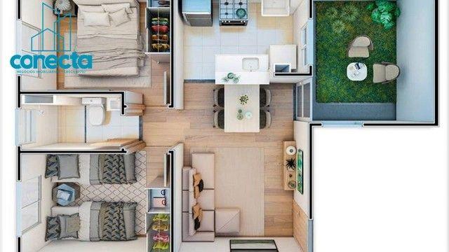 Residencial Mata dos Sabiás - 164.490,00  - Apartamentos de 2 quartos no Petrópolis - Foto 15