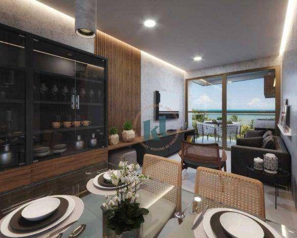 Apartamento com 2 dormitórios à venda, 63 m² por R$ 485.754,06 - Ponta do Seixas - João Pe - Foto 13