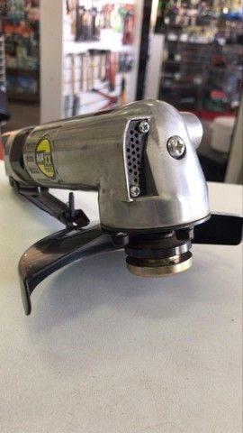 Esmerilhadeira Angular 5 Pneumática   Maxx Tools  - Foto 3