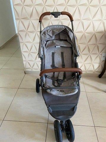 Carrinho de bebê - Moving light com couro - ABC design  - Foto 2
