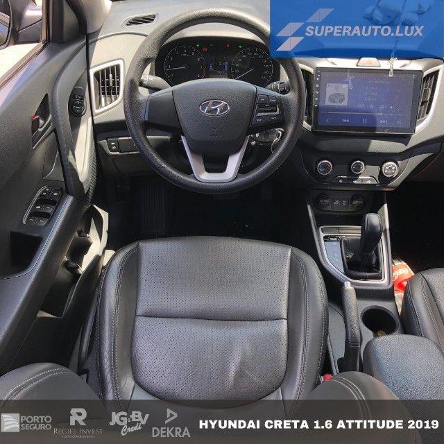 Hyundai Creta 1.6 Attitude AT6 2019 - Foto 4