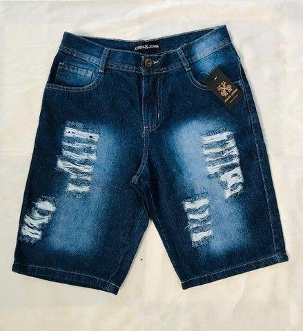 bermuda jeans em atacado - Foto 6
