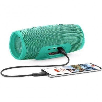 Caixa de Som Bluetooth JBL Charge 4 30W -Verde Claro - Foto 2