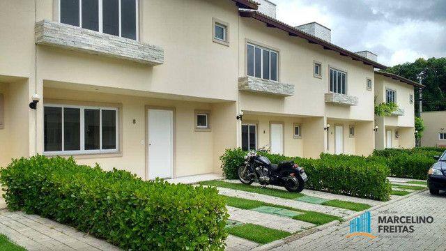 Casa com 3 dormitórios para alugar, 104 m² por R$ 1.109,00/mês - Lagoinha - Eusébio/CE - Foto 2