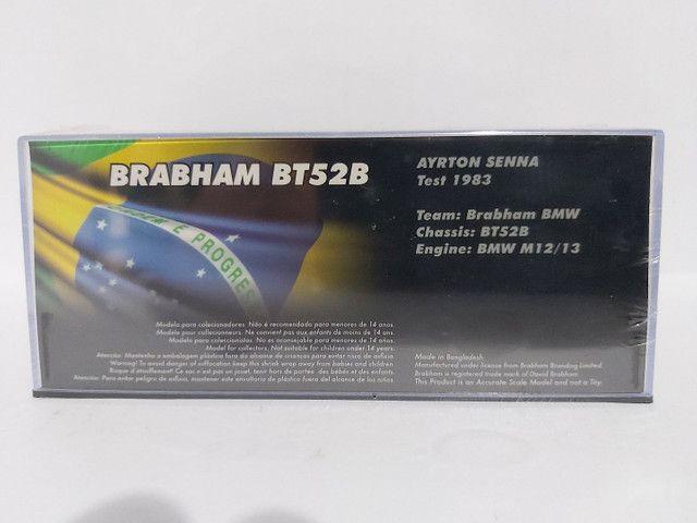 MINIATURA F1 BRABHAM BT52B AYRTON SENNA - TEST GP 1983 - Foto 2
