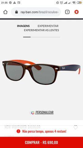 Óculos Rayban wayfarer