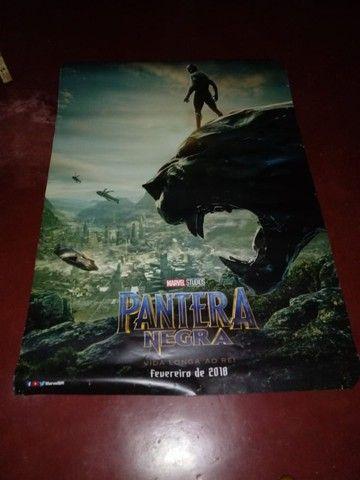 Cartaz De Cinema Original Pantera Negra