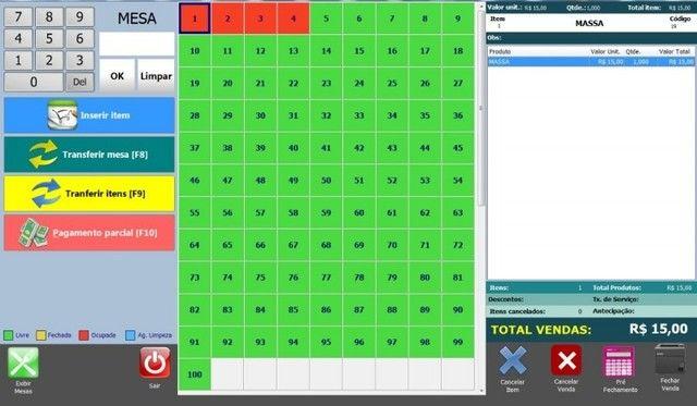sistema controle mesa comanda delivery p/ computadores PC notebooks em geral - Foto 5