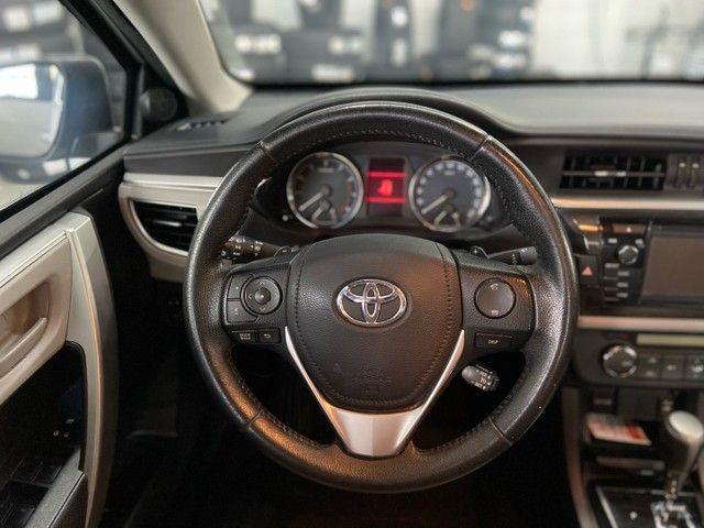 Corolla XEI 2.0 Flex aut. 2017 BLINDADO - Foto 10