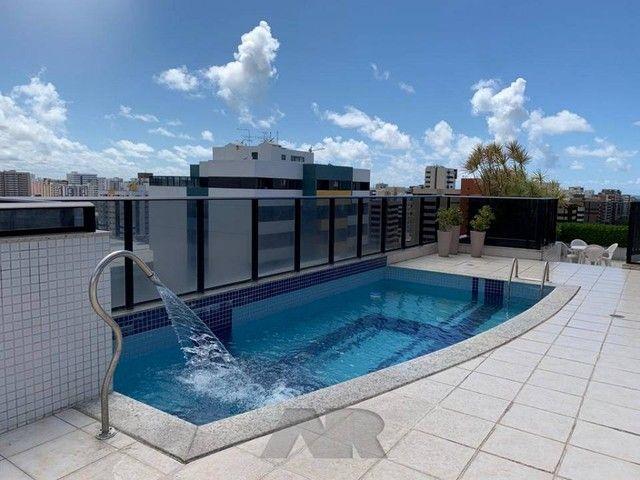 Apartamento para venda com 97 metros quadrados com 3 quartos em Ponta Verde - Maceió - AL