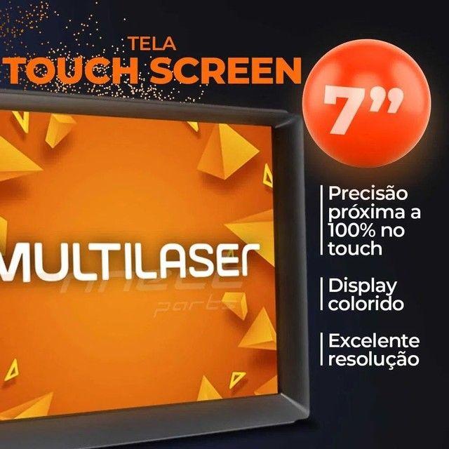 """Central Multimídia 2 Din 7"""" Multilaser Evolve GP345 TV Digital BT USB Espelhamento<br><br> - Foto 5"""