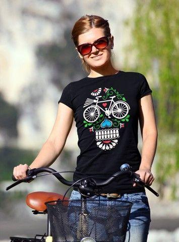 Camiseta Caveira - Foto 2