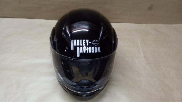 Capacete importado original, Harley Davidson escamoteável - Foto 3