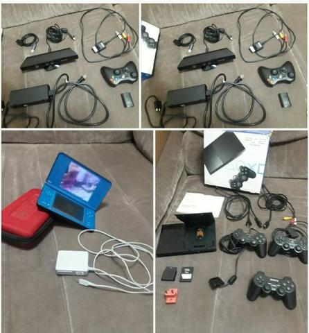 Xbox360 s slim + Ps2 slim + Dsi XL + TV HD