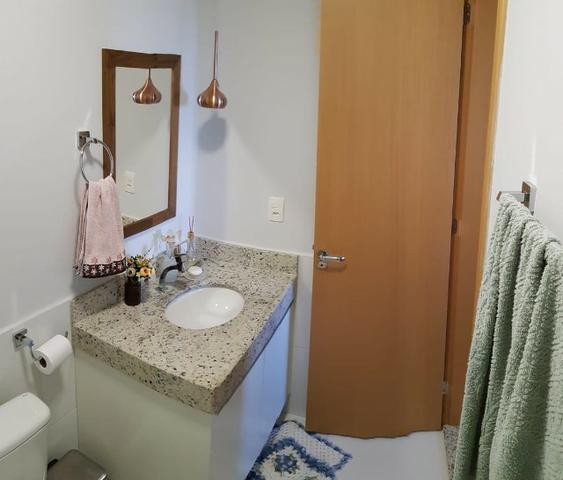 Vende-se Apartamento no Condomínio Brasil Beach, com 2 Quartos sendo 1 Suíte - Foto 4