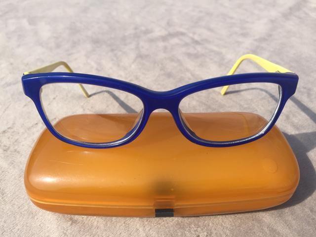 aa62494c7 Armação de óculos de grau em acetato coyote - Bijouterias, relógios ...