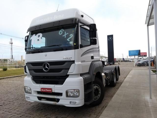 Mercedes-benz Axor 2536 Teto Alto - Selectrucks - Foto 2