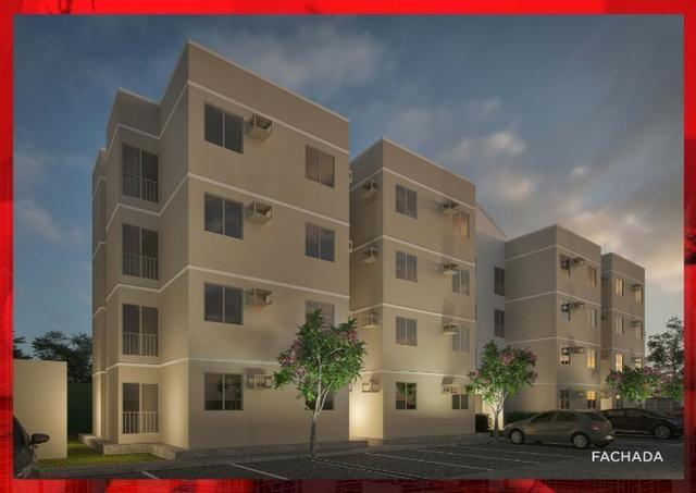 Apartamento com 2 quartos no Janga, excelente localização e área de lazer completa