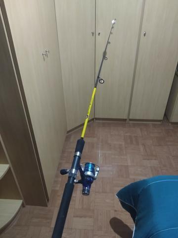 Vara de Pesca Nova- Aceito Cartão