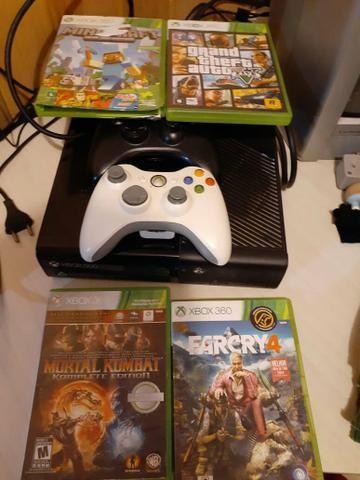 Xbox 360 completo Leia descrição