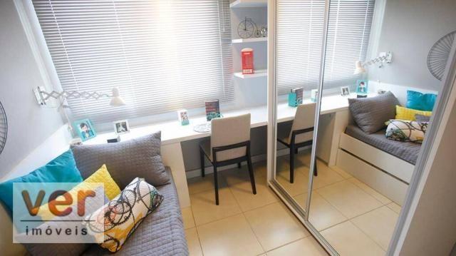Apartamento com 2 dormitórios à venda, 52 m² por R$ 279.000,00 - Presidente Kennedy - Fort - Foto 4