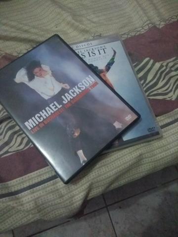 DVDs Michael Jackson / This is it + Dangerous Tour