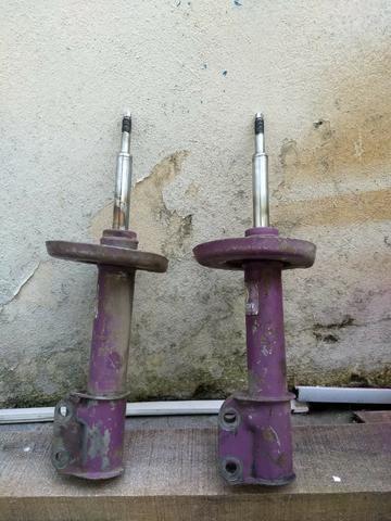 Molas e amortecedores esportivos celta corsa - Foto 5