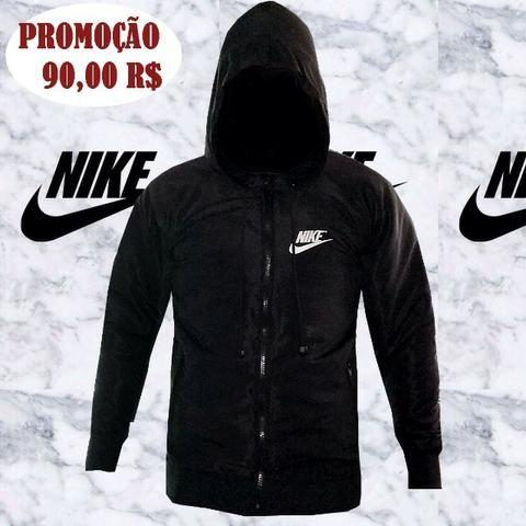 Jaqueta Nike Preta Forrada Primeira Linha Especial Preto Top 1