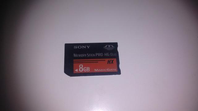 Cartão de memória PSP