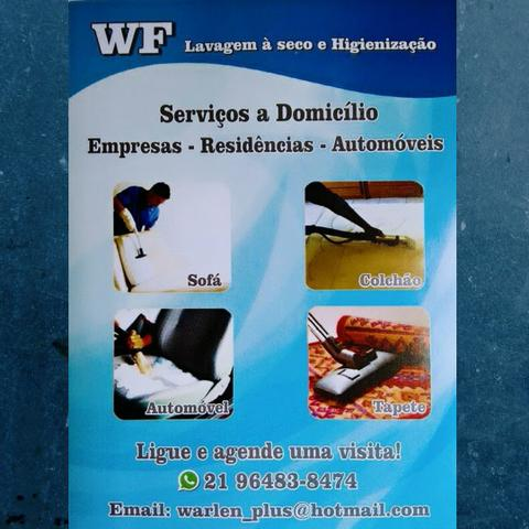 WF Higienização de estofados