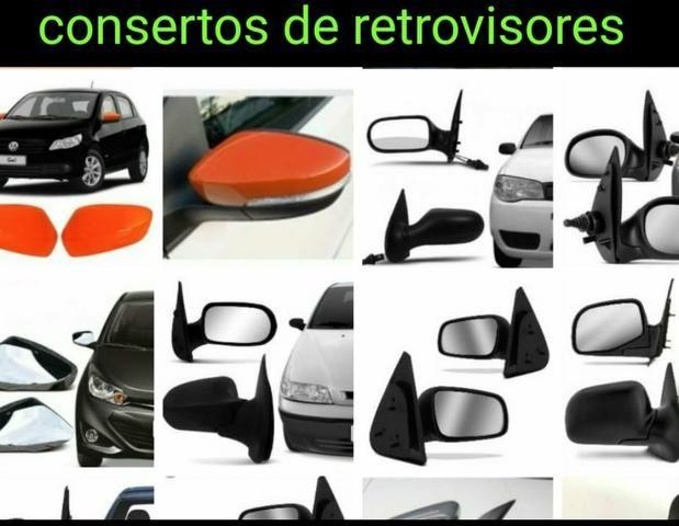 Capas lentes retrovisor golf idea ranger Palio Siena Strada Etios Focus