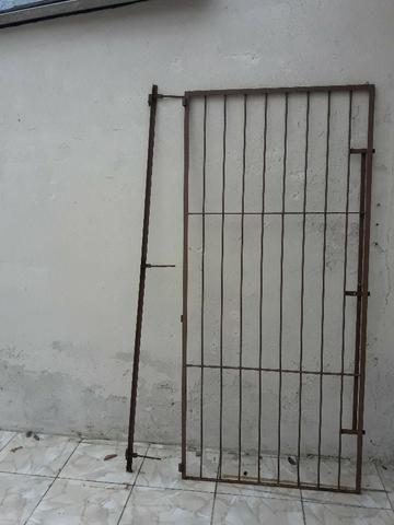 Grade segurança para porta