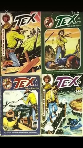Kit 4 Gibis Tex Coleção