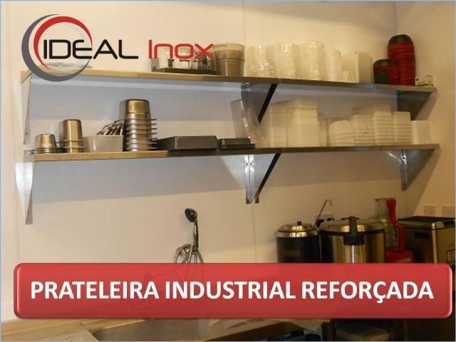 Prateleira Inox para cozinha industrial - Gregory Inox - Produto para sua cozinha NOVO