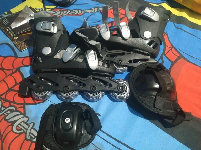 Vendo patins infantil novo - Foto 2