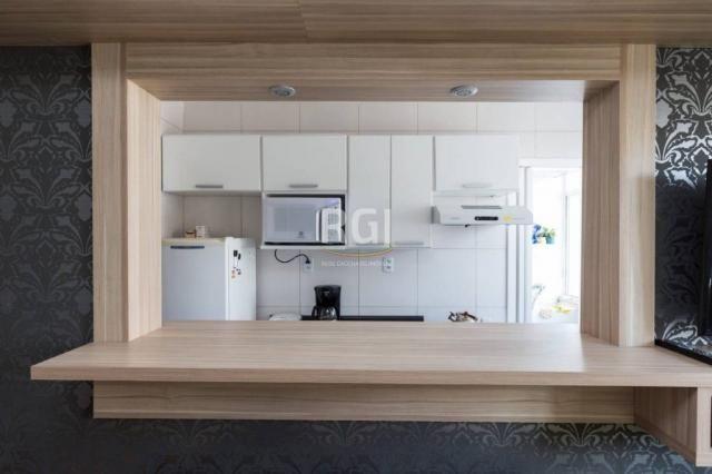 Apartamento à venda com 1 dormitórios em São joão, Porto alegre cod:HT207 - Foto 6
