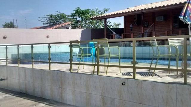 Casa com piscina aquecida na beira do lago - Foto 3