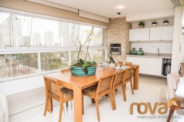 Apartamento à venda com 3 dormitórios em Setor bueno, Goiânia cod:NOV235442 - Foto 9